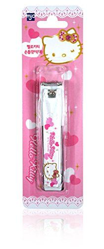 Hello Kitty Nail Clipper 315 x 063inches Stainless Steel White >>> You can find more details by visiting the image link.