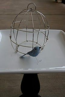 diy birdcage...would be cute in a tiny version on a necklace