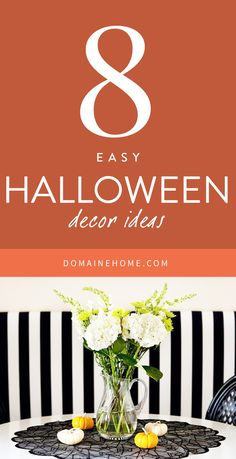 Subtly spooky Halloween decorating ideas for your home