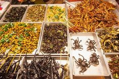 Click through for a Smithsonian Magazine article: Five Ways to Start Eating Insects