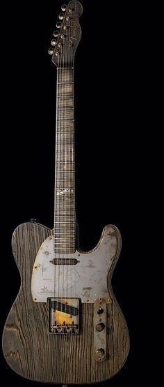 Really interesting Fender Telecaster, Beautiful Wood Fender Telecaster, Gretsch, Telecaster Custom, Fender Guitars, Gibson Guitars, Guitar Art, Music Guitar, Cool Guitar, Acoustic Guitar