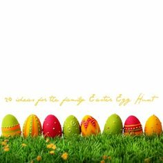 """20 Creative Ideas to """"spice up"""" your Family Easter Egg Hunt!"""