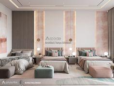 Luxury Kids Bedroom, Luxury Bedroom Design, Modern Master Bedroom, Girls Bedroom, Kids Room Design, Home Room Design, Room Ideas Bedroom, Bedroom Decor, Room Interior