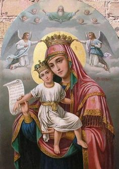 Religious Images, Religious Art, Bible Timeline, Catholic Pictures, Jesus Christ Images, Byzantine Icons, Blessed Virgin Mary, Bottle Painting, Blessed Mother