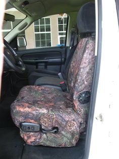 Truck seat cover.
