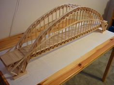 toothpick building projects for kids | Bridges Made Of Popsicle Sticks