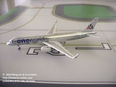 Gemini Jets American Airlines Boeing 757-200w One World Diecast Model 1:400