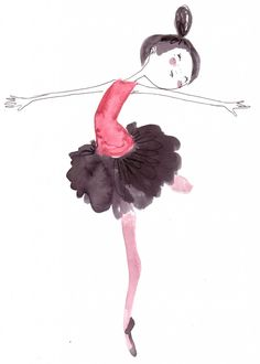 Dance - Watercolor by Luisa Montalto