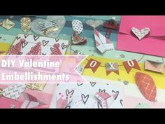 EASY DIY Valentine Embellishments Inspired by Target dollar Spot | I'm A Cool Mom - YouTube