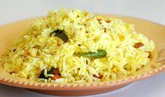 Mahanandi » Maamidikaya pulihora (Mango Rice)