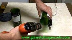Tips on Sanding a Cut Glass Wine Bottle Edges style