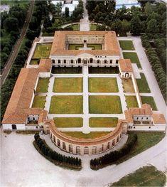 Palazzo Del Te. Constructed 1524–34. Giulio Romano, architect.