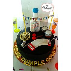 Birthday Parties, Happy Birthday, Birthday Cake, Colombian Food, I Party, No Bake Desserts, Bakery, Gifts, Amor