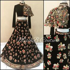 Royal Redux, lehenga by MischB Couture