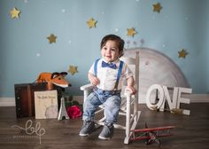 The Little Prince: Cake Smash - First Birthday - BLP Photography