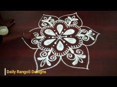 simple kolam designs with 3 dots    creative rangoli designs    easy mug...