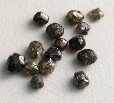 Brown Rough Diamond Crystal Raw Diamond Uncut by gemsforjewels