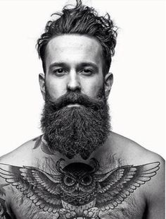 Don't know if I should put this on the Beards or Tatts board. Oh, okay, I'll do both.