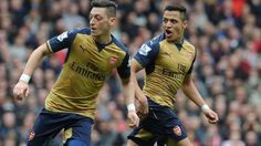 Alexis Sanchez and Mesut Ozil's performances for Arsenal over recent weeks lead Arsene Wenger to believe they want to stay at the club.  The attacking duo are out of contract next year and are yet to sign reportedly lucrative terms to remain at Emirates Stadium.  Chile forward Sanchez has been extensively linked with a move while Germany playmaker Ozil came in for sustained criticism for a series of anonymous displays during the Gunners' February and March slump.  But a run of six wins from…