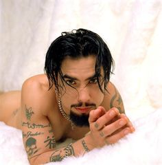 Dave Navarro - Seriously, I just want to do the naughtiest things to him.