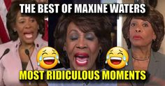 "...It's okay for this hag to call President Trump a scumbag, but to call Hillary ""crooked"" is an impeachable offense? CROOKED is the nicest thing you can say about Hillary! And for Maxine, every time she opens her mouth, she makes a fool of herself."