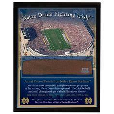 Notre Dame Fighting Irish Plaque