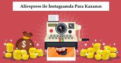 Aliexpress sitesindeki ürünleri instagramda gibi sosyal paylaşım sitelerinde doğrusan yada satış ortaklığı ile satarak para kazanma yolları.