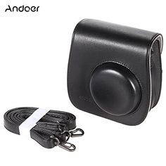 Andoer Artficial Leather Camera Case Bag Cover for Fuji Fujifilm Instax Mini8 Mini8s Single Shoulder Bag ** Details can be found by clicking on the image. (Note:Amazon affiliate link)