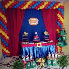 "Sobre sábado ""O show da Iasmin"" #showdaluna #decorandocomamor #aniversarioinfantil Show Da Luna, Birthday Cakes, Alice, Party, Mother's Day Activities, Towels, Kids Part, Ideas, Santiago"