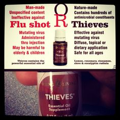 Thieves Essential Oil For Cold And Flu Like Symptoms