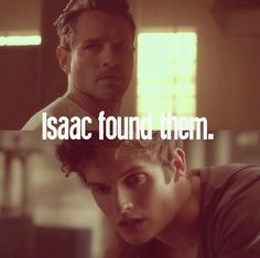 Peter Hale and Isaac Lahey in one shot - rahhhrrrr I'm a happy girl! LOL