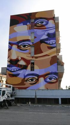 Orticanoodles - Italian Street Artists - San Benedetto del Tronto (IT) - 06/2015 - |*/| #orticanoodles #streetart #italy