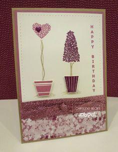 HAPPY HEART CARDS: JAI #328: STAMPIN' UP! VERTICAL GREETINGS