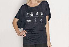 SALE Harry Potter Flowy Shirt - Fits Many Sizes S-XL - Azkaban Sorceror's Stone - Women Hipster Girls Teen Shirt Tee Shirt