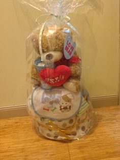 There is a lot of love in this nappy cake Nappy Cakes, Snow Globes, Home Decor, Decoration Home, Room Decor, Home Interior Design, Home Decoration, Interior Design