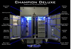 Flexi Equine Tack manufacture high quality tack lockers for equine sport. Secure your tack with style. Mobile solutions customised to your choice of style and finish.