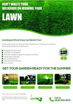 #arttragrass www.artificialgrasstrader.co.uk or call 0845 299 3879