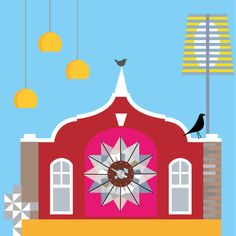 suzanne carpenter (illustrator_eye) on Twitter #Clerkenwell Design Week - shout it from the rooftops!