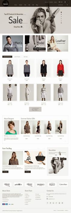 Best Premium Responsive New Prestashop Theme #eCommerce #webdesign