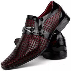 4243f82a88 sapato social casual masculino brilhoso verniz couro franca