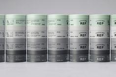 REF by Kurppa Hosk, Sweden. #branding #packaging