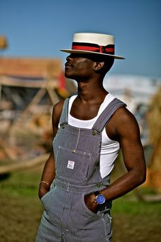 Boater-hat-dungarees-festival-look-672x1008 New Orleans Fashion 6e2d076b7f6f