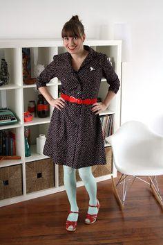 Handmade dress  Team Teacup blog