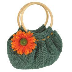 Tutorial borsa verde di cotone