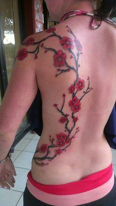 Sakura. Cerezo