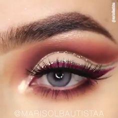 Gorgeous ... ������������ #HowToApplyMascara Hazel Eye Makeup, Eye Makeup Steps, Hooded Eye Makeup, Natural Eye Makeup, Smokey Eye Makeup, Natural Skin Care, Makeup Tips, Makeup Ideas, Do Perfect
