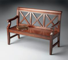 Cherry Bench | Butler Specialty Company | Home Gallery Stores