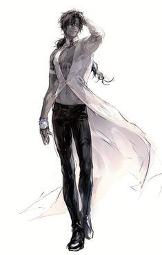 Hot Anime Boy, Cute Anime Guys, Manga Art, Anime Art, Arte Ninja, Poses References, D Gray Man, Estilo Anime, Handsome Anime Guys