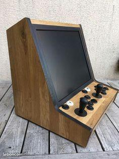 Retropie Arcade, Arcade Table, Arcade Joystick, Mini Arcade, Arcade Games, Bartop Arcade Plans, Arcade Cabinet Plans, Console Style, Table Saw Accessories