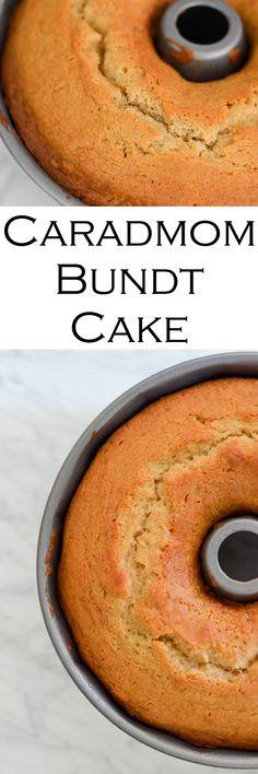 Honey Cardamom Bundt Cake Recipe #foodblogger #lucismorsels #cake #bundtcake #cardamom #dessert
